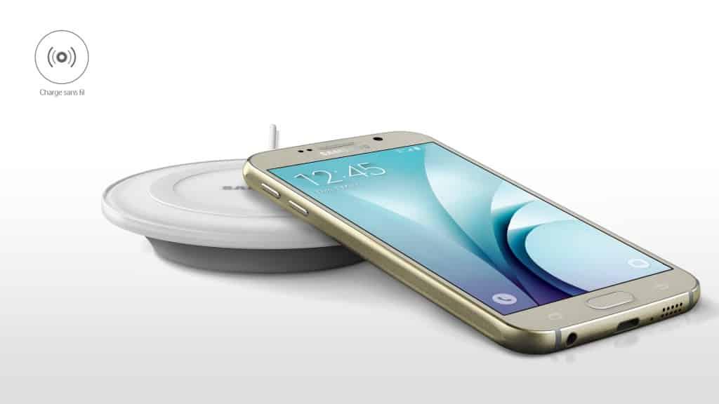 Recharge sans fil Galaxy S6