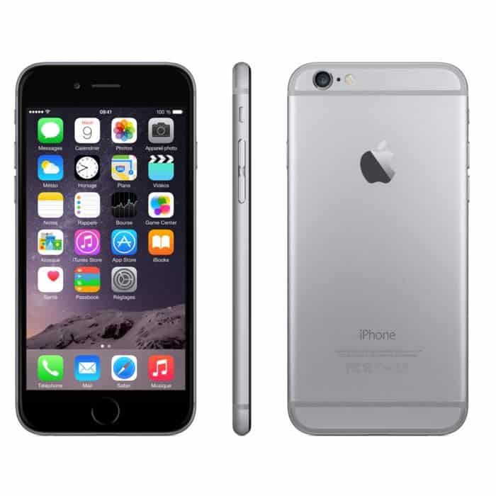 iPhone 6 Gris sidéral Apple