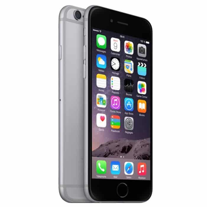 apple iphone 6 gris sid ral noir 64 go prix monpetitmobile. Black Bedroom Furniture Sets. Home Design Ideas