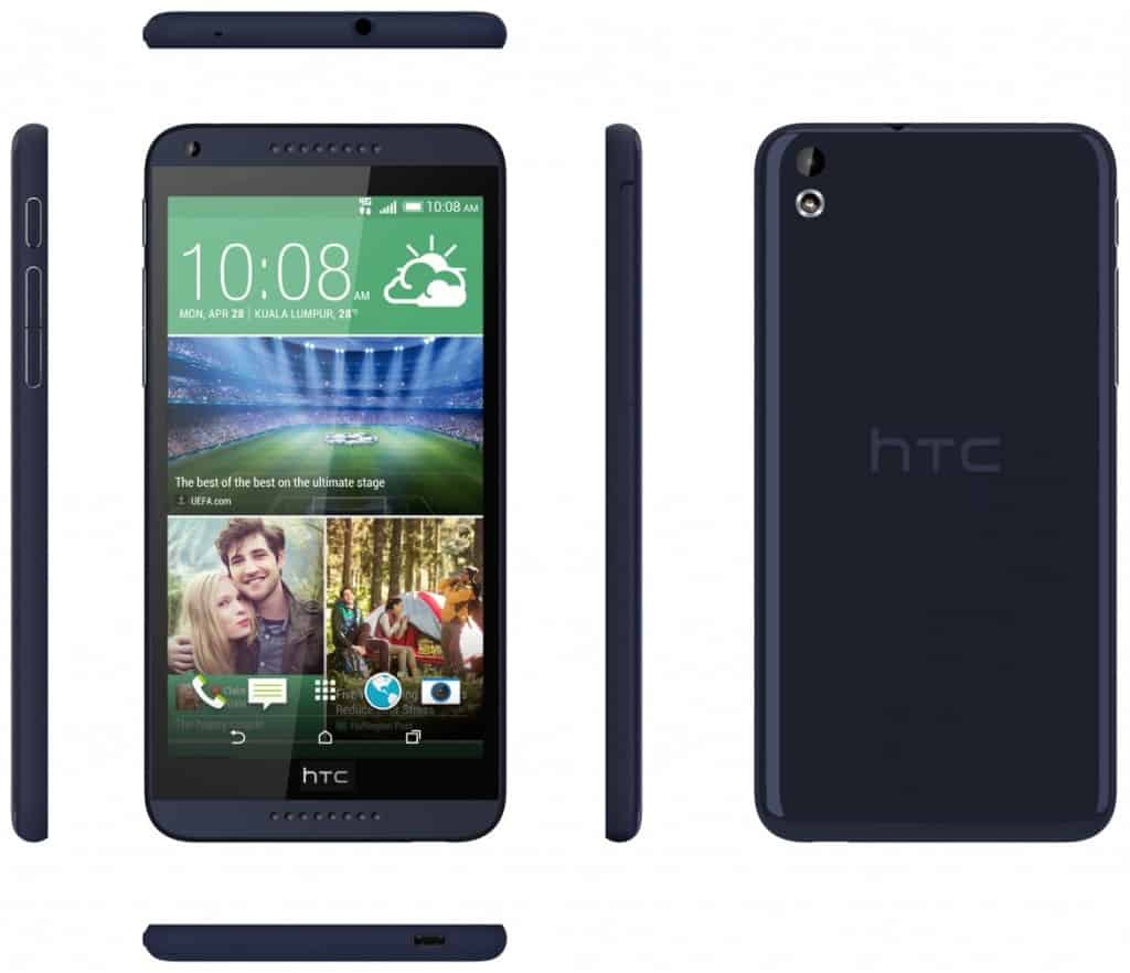 HTC Desore 610 Bleu marine