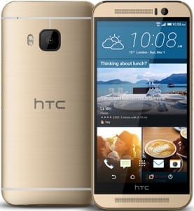 HTC One M9 – Or 32 Go