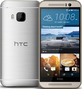 HTC One M9 – Argent 32 Go