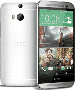 htc one m8 argent blanc 16 go prix monpetitmobile. Black Bedroom Furniture Sets. Home Design Ideas