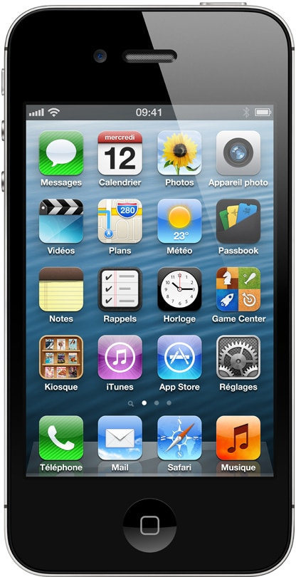 apple iphone 4s noir 32 go prix monpetitmobile. Black Bedroom Furniture Sets. Home Design Ideas