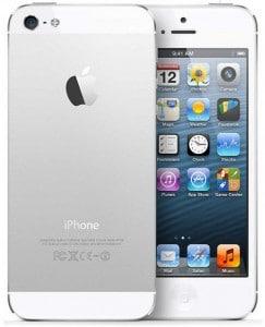 iPhone 5S Reconditionné – Argent 16 Go