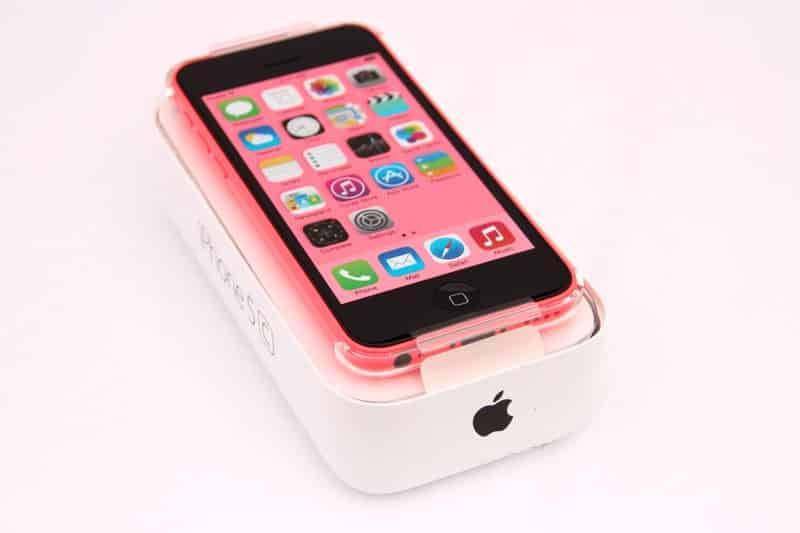 Iphone 5c rose prix neuf