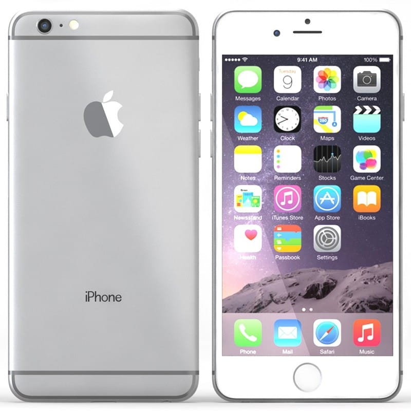 apple iphone 6 plus argent 128 go prix monpetitmobile