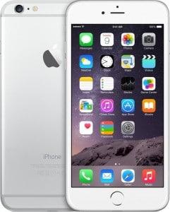 apple iphone 6 plus argent 64 go prix monpetitmobile. Black Bedroom Furniture Sets. Home Design Ideas