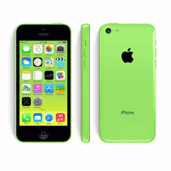 Apple iphone 5c vert 16 go prix monpetitmobile for Photo ecran iphone 5c