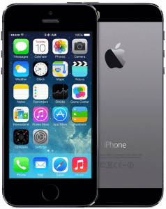 iPhone 5S Reconditionné – Gris Sidéral 16 Go