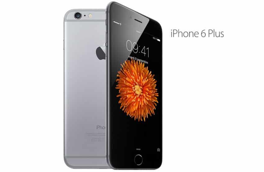 apple iphone 6 plus gris noir 128 go prix monpetitmobile. Black Bedroom Furniture Sets. Home Design Ideas