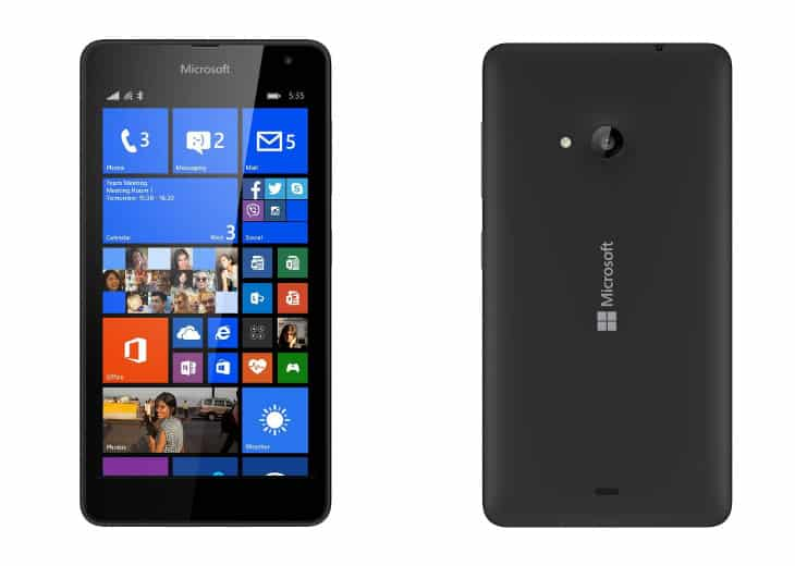 you encountered how to use microsoft lumia 535 monthly cost