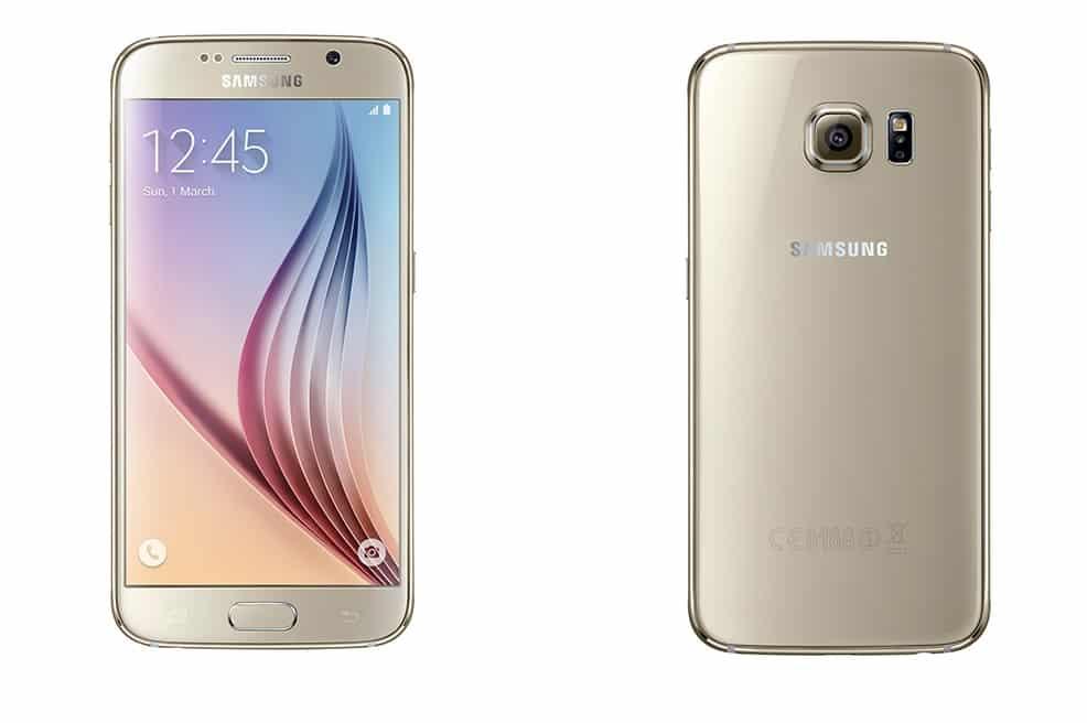 Samsung Galaxy S6 Or 32 Go