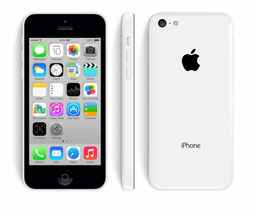 Apple iPhone 5C Blanc Reconditionné