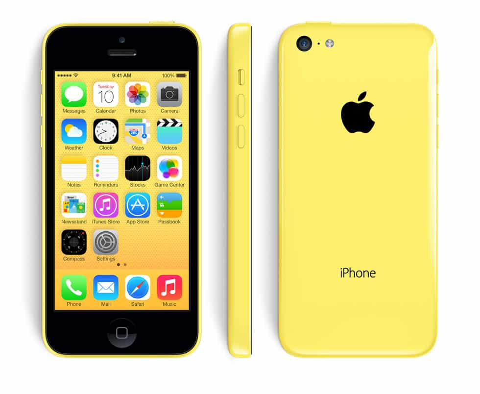 apple iphone 5c reconditionn jaune 16 go prix monpetitmobile. Black Bedroom Furniture Sets. Home Design Ideas