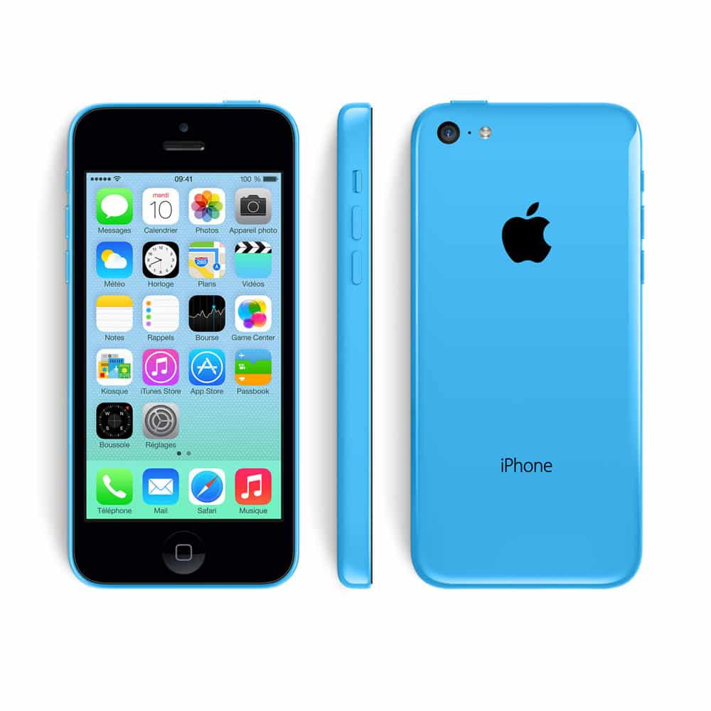 apple iphone 5c reconditionn bleu 16 go prix monpetitmobile. Black Bedroom Furniture Sets. Home Design Ideas
