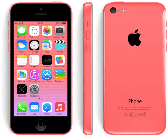 apple iphone 5c reconditionn rose 16 go prix monpetitmobile. Black Bedroom Furniture Sets. Home Design Ideas