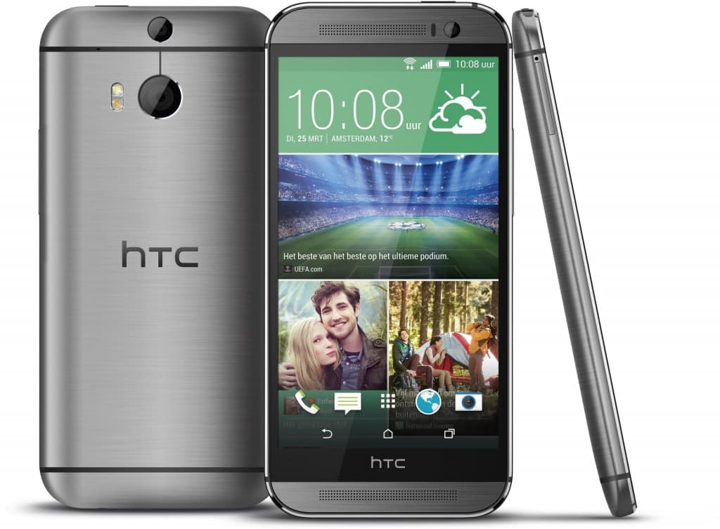 htc one m8 reconditionn noir gris 16 go prix. Black Bedroom Furniture Sets. Home Design Ideas