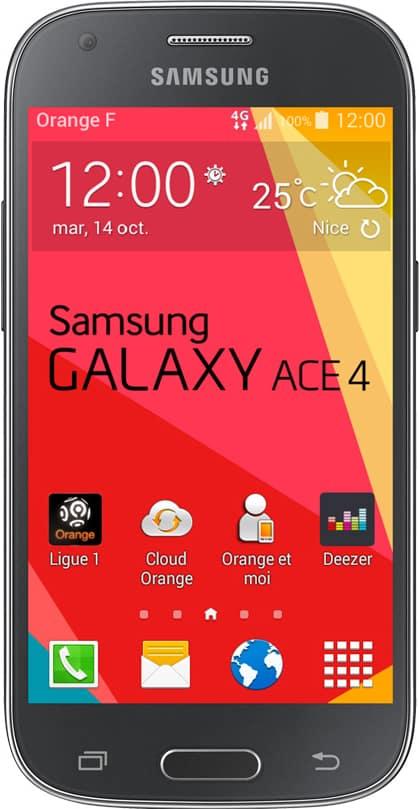 Samsung Galaxy Ace 4 Noir Go