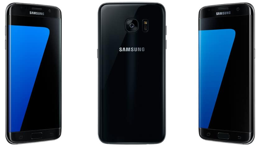 samsung galaxy s7 edge noir comparatif des prix du smartphone. Black Bedroom Furniture Sets. Home Design Ideas