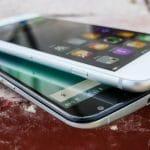 L'écran du théorique iPhone 8 légèrement courbé, dans la technologie du 2,5D Glass