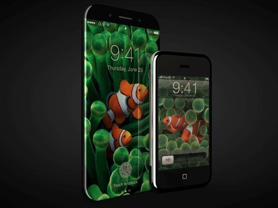 Iphone 8 et premier iPhone