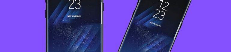 Design Galaxy S8 et S8 Plus