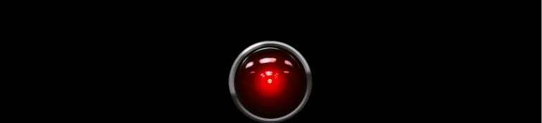 HAL 9000, une intelligence artificielle