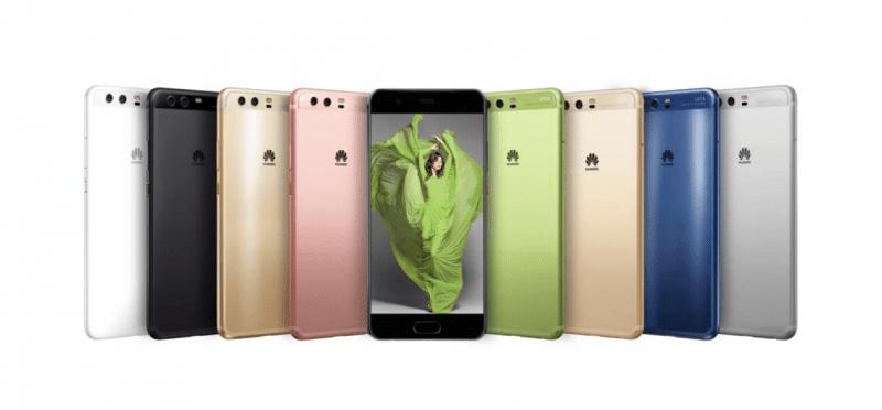 image publicitaire du Huawei P10