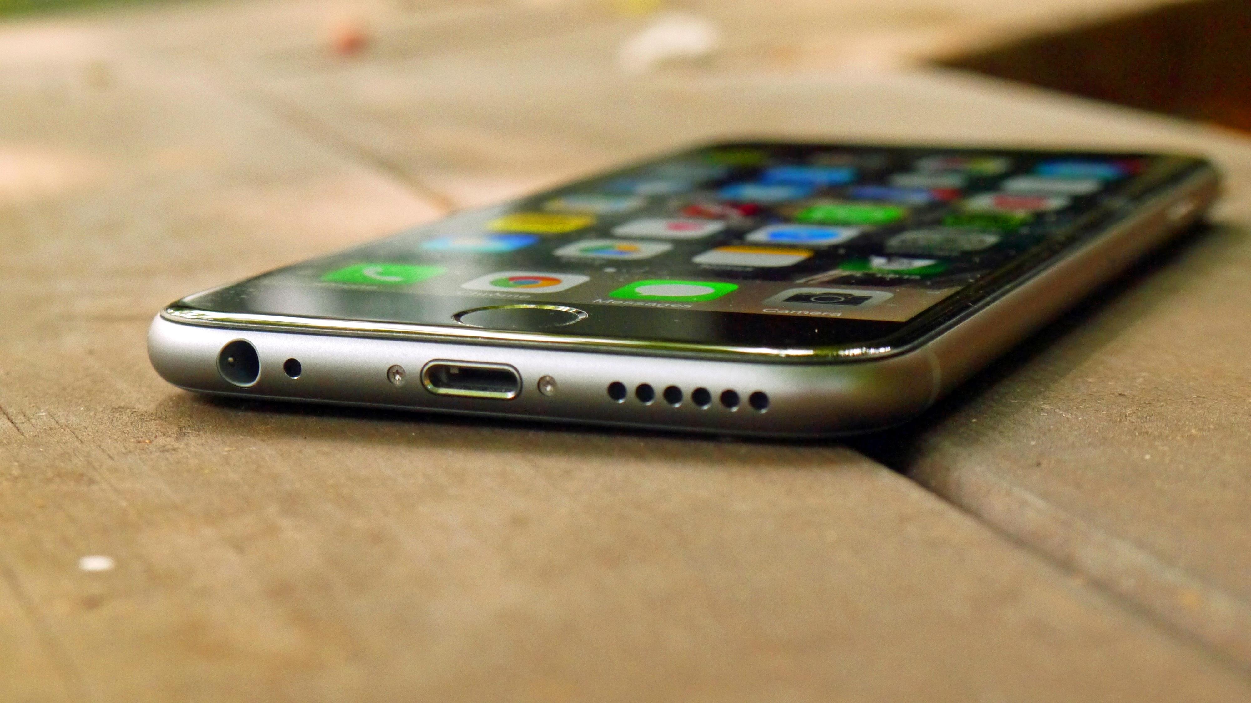 Finition dorée du nouvel iPhone 6