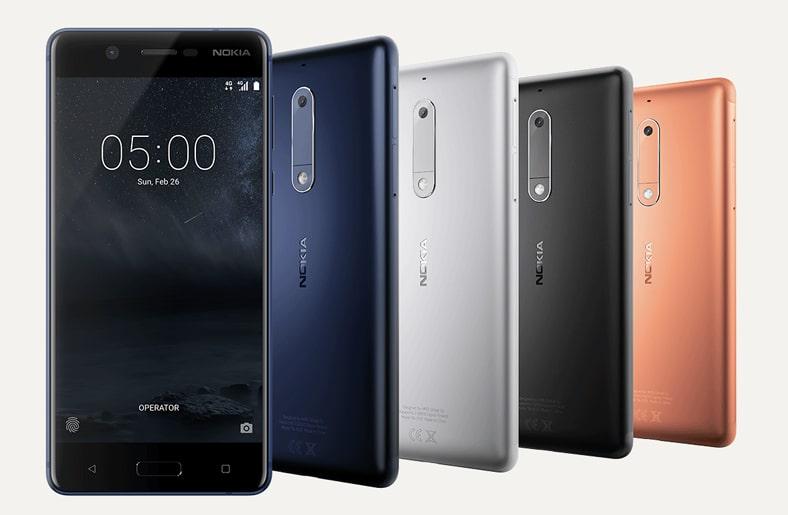 Nokia 3, 5 et 6
