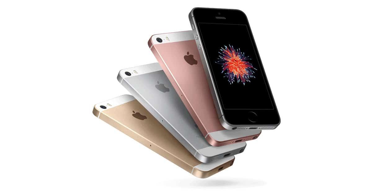 iPhone SE et ses coloris