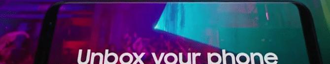 image promotionnelle du Galaxy S8