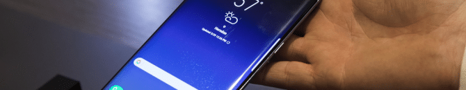 écran du Galaxy S8