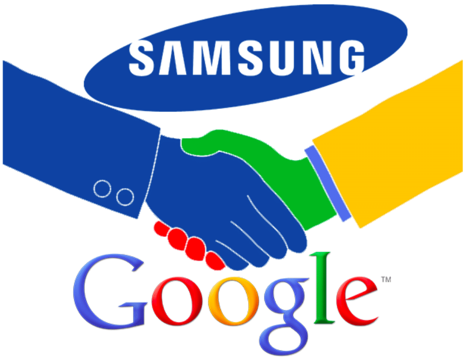 Google et Samsung