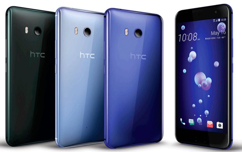 smartphones HTC U 11