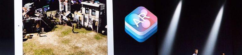 La réalité augmentée a été introduite sur iPhone grâce à l'iOS11