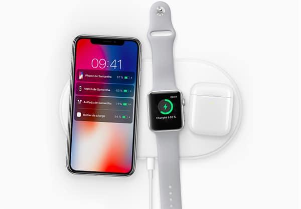 Le nouvel iPhone X pourra être chargé grâce au AirPower