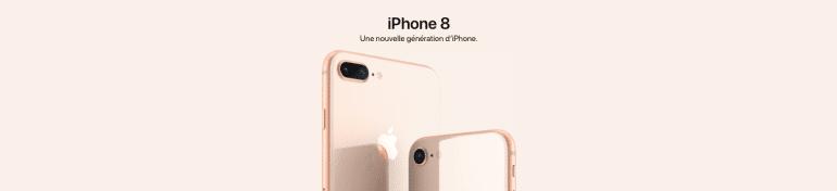 L'iPhone 8 ne présente que très peu de différences avec l'iPhone 7.