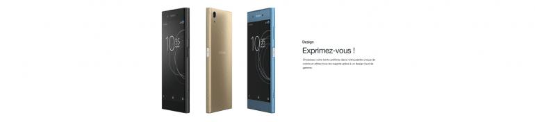 Le Sony Xperia XA1 Plus, un smartphone avec une grande autonomie