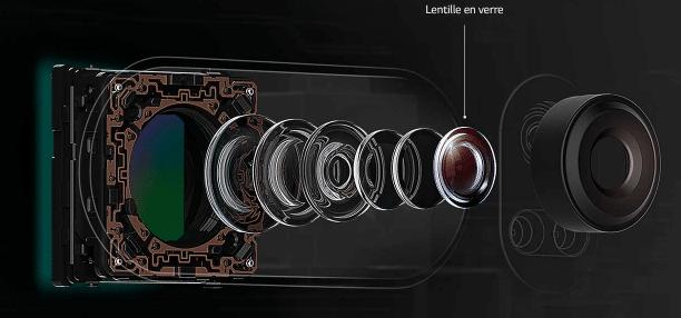 Le V30 est un smartphone exceptionnel doté d'une ouverture à f/1.6
