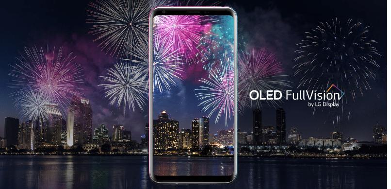 Les smartphones V30 de LG embarquent un écran Oled
