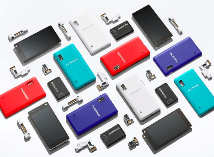 Le FairPhone 2 est entièrement modulable, de la batterie à l'appareil photo.
