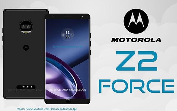 Motorola a présenté son Z2 Force pendant l'IFA 2017