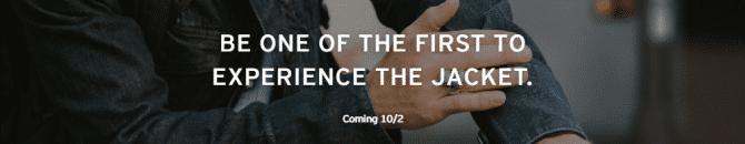 La veste connectée sera commercialisée le 2 octobre