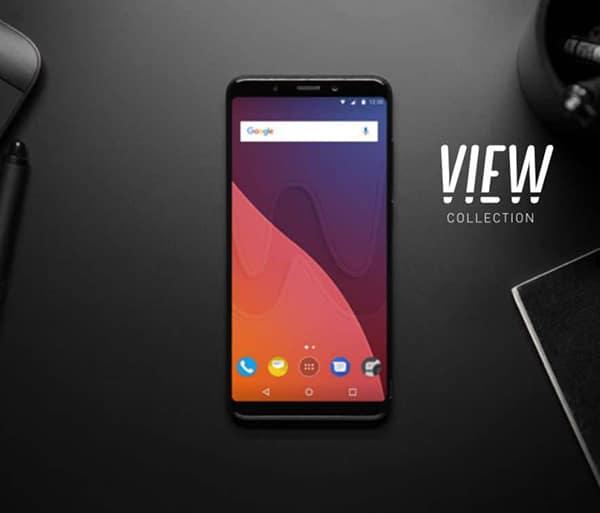 Présenté à l'IFA 2017, Le Wiko View est premier smartphone borderless de la marque Wiko