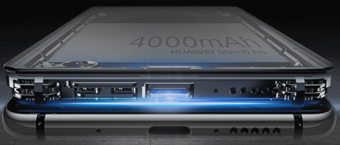 La batterie du Huawei Mate 10 Pro est de 4000 mAh
