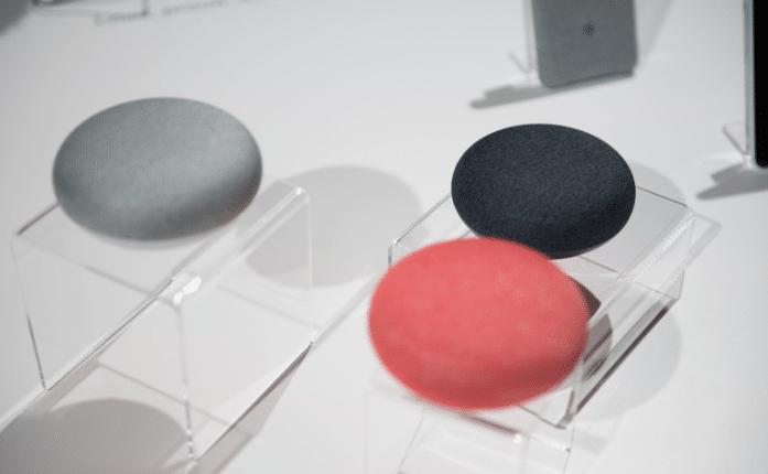 google home qu 39 a d voil google lors de sa conf rence du 4 octobre. Black Bedroom Furniture Sets. Home Design Ideas