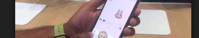 Le choix du nom Animoji ne serait pas une création de Apple