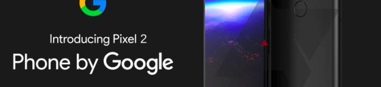 Google officialise les Pixel 2 et 2 XL